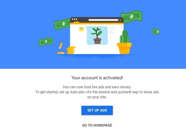 恭喜白天博客 Google AdSense 通过审核