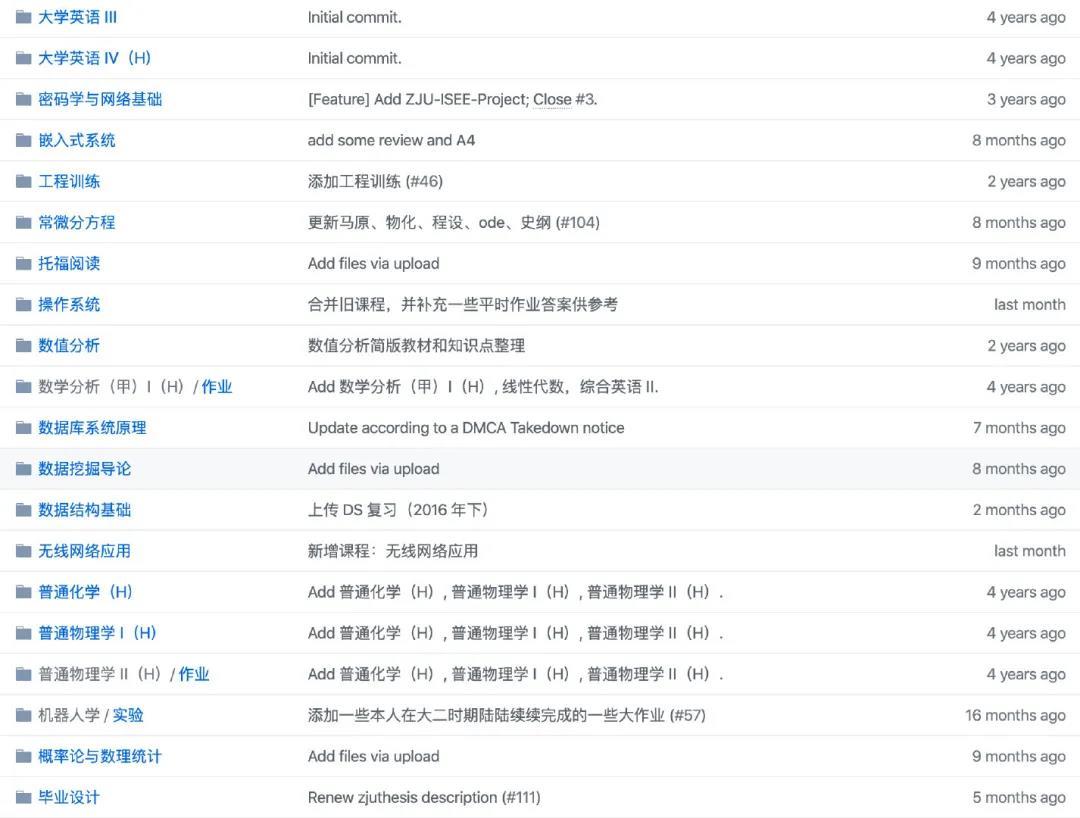 推荐一个浙大计算机课程开源项目,看完后假装自己从浙江大学毕业!
