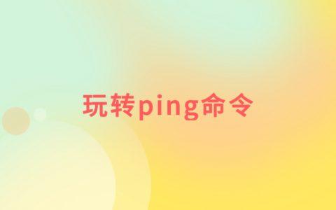 windows 命令行 ping 网站的作用以及 ping 命令的其他用法
